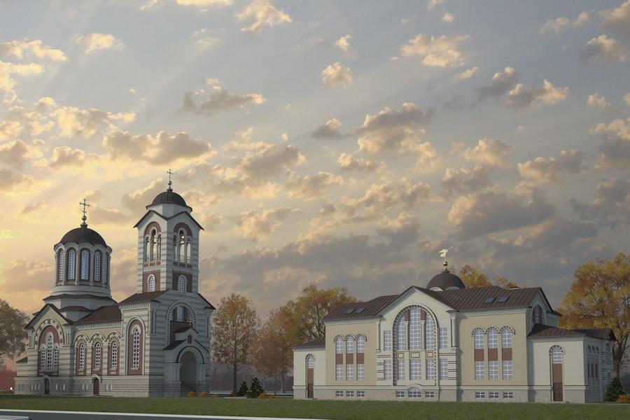 Церковь великомученика георгия победоносца храм в коптево