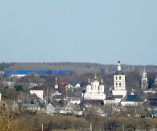 Панорама города Боровска