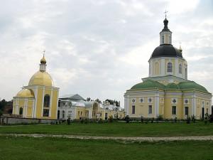 Мужской монастырь, Спаса Нерукотворного Пустынь, в деревне Клыково.